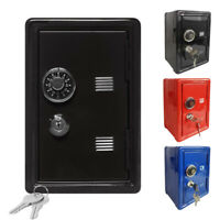 Key Safe Box Wall Mounted Home Safety Password Security Lock Storage Boxes Case