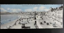 Dorset WEYMOUTH The Esplanade Looking Sth Wideview Postcard by ETW Dennis PW0610