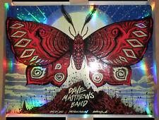 Dave Matthews Band Charlotte NC 2021 Jeff Soto Poster Print FOIL VARIANT Signed