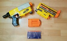 NERF N-STRIKE RECON CS-6 barrel extension Laser Sight 10 new x Bullets / Darts