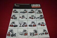 Bobcat Skid Loader Attachments For 1991 Dealers Brochure DCPA2