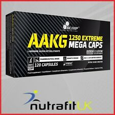 OLIMP AAKG 1250 EXTREME 120 MEGA CAPS nitric oxide booster
