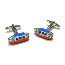 Canal Narrowboat Barge Boat Holidaymaker Christmas Birthday Present CUFFLINKS