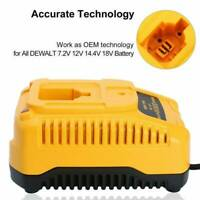 Battery Charger for DEWALT DW9057 DC9071 DC9091 DC9096 Ni-Cd Ni-MH 7.2V-18V Fast