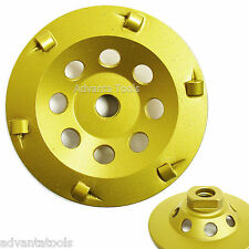 "4� Quarter Round Pcd Grinding Cup Wheel 6 Segments - 5/8""-11Threads"
