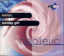 SUNDAY GIRL MARIA 3 TRACK CD SINGLE FREE P&P