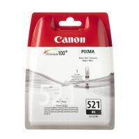 Canon CLI 521,BK, Black, Original; OVP, KEIN REFILL, m Mwst.,