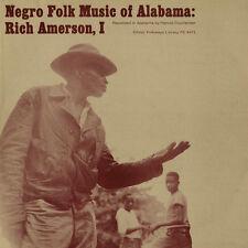 Rich Amerson - Negro Folk Music of Alabama 3 [New CD]