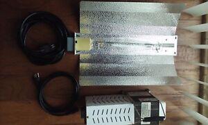LOOK  SG BALLAST HYDROPONIC GROW LIGHT AND TRANSFORMER 1OOO W SODIUM BULB S52
