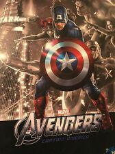 Chris Evans 1:9 Statue Action Figure Marvel Captain America Coa Signed Autograph