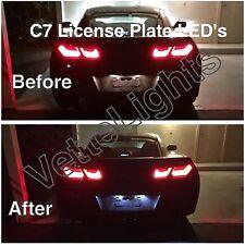 2014+ C7 Corvette License Plate Led Conversion (Stingray & Z06) Plug-N-Play