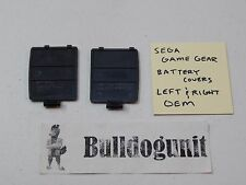 Official OEM Sega Game Gear Battery Cover Plates Left and Right Lot
