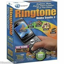 Ringtones Media Studio 3 (Win) Ringtones, Music, Photos, Videos & Games! **NEW**
