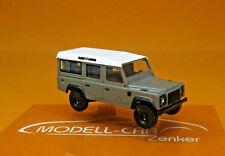 Busch 50372 Land Rover Defender grau Scale 1 87 Neu