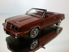 NEO MODELS DODGE 600 CONVERTIBLE - RED/BROWN 1:43 - EXCELLENT - 29