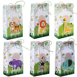 Jungle Theme Party Bags