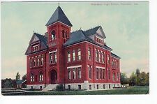 Vintage Rochester, IN Postcard - Rochester High School - Unposted