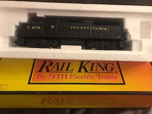 MTH Railking O Scale SD45 Diesel With Proto Sound PRR Cab #6176 Pennsylvania