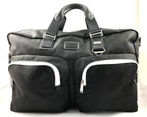 Tumi Alpha Bravo Lexus Edition Bag Duffle Duffel Ballistic Nylon Black 22341 NEW