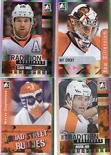 2011-13 ITG Broad Street Boys Flyers pick to fill your lot / Set Giroux RC Jagr