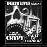 Death Lives Again Tales from the Crypt Vault of Horror Skull Campy Shirt NFT167