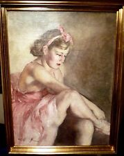 """American painter, Fried Pal`s picture """"Beautiful ballerina"""", 1930-1940`s"""