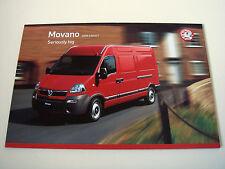 Vauxhall . Movano . 2008 Models Edition 1 . Sales Brochure