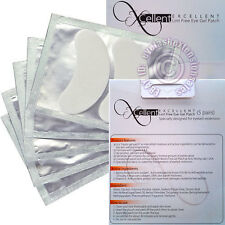 20 x Patches For Eyelash Extensions Under Eye Gel Collagen Mask Lint Free Pads