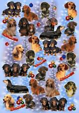 Dachshund Christmas Wrapping Paper By Starprint