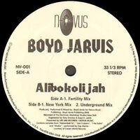 BOYD JARVIS - Alibokolijah, Feat. Zap Mama - Novus