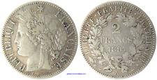 2  FRANCS  CERES  ARGENT  1894  A  PARIS  ,  RARE MONNAIE DE QUALITÉ