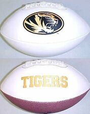 Missouri Tigers Rawlings Signature Full Size NCAA College Team Logo Football