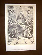 Nostra Signora Guadalupe + Madonna della Mercede Stampa popolare spagnola Spagna