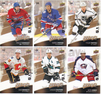 2017-18 Upper Deck MVP Hockey - Puzzle Back Cards - Choose From Card #'s 1-200