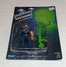 1987 KENNER SILVER HAWKS STEELWILL WITH ULTRASONIC SUIT NEW