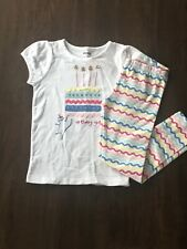 NWT Gymboree BIRTHDAY SHOP Sz 2T Birthday Girl Tee & Leggings