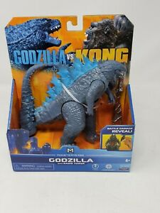 "GODZILLA VS KONG Godzilla Radio Tower 6"" Figure BATTLE DAMAGE REVEAL"