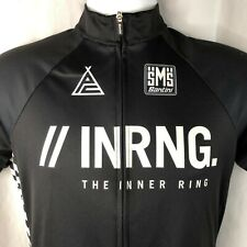 SMS Santini Inring Full Zip M/L Cycling Jersey Large Slim Italy Made Prototipo
