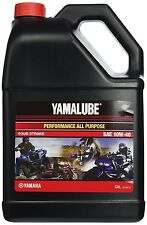 Yamalube 10W-40 All Purpose Performance Engine Motor Oil OEM Yamaha 1 Gallon