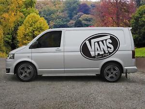 Huge Vans Surf Van Vinyl Sticker Decal x 2