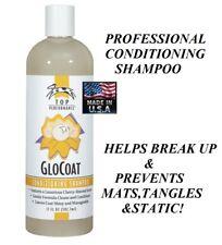 PET DOG CAT Glo Coat GLOCOAT CONDITIONING SHAMPOO Grooming Dematting Detangles