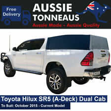AT Soft Ute Canopy Toyota Hilux SR-5 (A-Deck) Dual Cab - October 2015+
