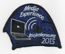 2013 National Jamboree Promo Tent Patch Series, Media Experience, Mint!