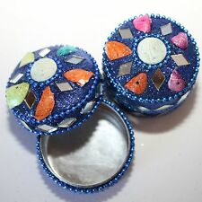Pill Box Little Jewellery Containers Colourful from India