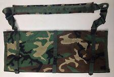 New USGI Range Bag Barrel Bag Spare Barrel Gun Case Woodland Camo HK Style Clips