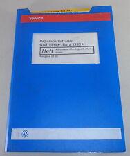 Taller de libro de mano vw golf iv/4/bora carrocería operaciones de montaje interior - 07/2000