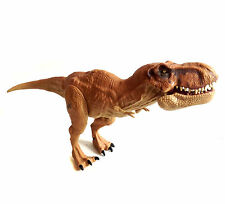 """Jurassic Park World T REX TYRANASAURUS Dinosaur 12"""" poseable toy figure NICE!"""