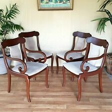 Vintage Set of 4 Genuine Parker Dining Chairs.