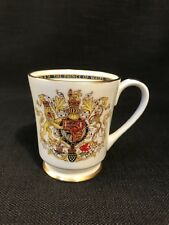 Aynsley Prince Charles Investiture Commemorative Footed Mug