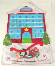 Hallmark Christmas advent calendar, kids felt countdown calendar